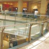 Pasamano de cristal al aire libre de interior de la mano de la escalera del uso elegante de la vivienda