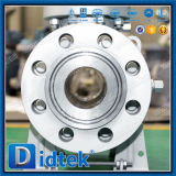 Classe Didtek1500 Rtj Munhão do Flange de Alta Pressão da Válvula de Esfera com Caixa de Engrenagens