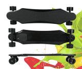 700W het Elektrische Skateboard van de Vezel van de koolstof met Dubbele Bestuurder