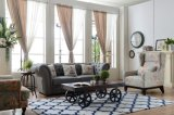 Sofà del tessuto di svago con il sofà moderno di Chesterfield di disegno del sofà per la mobilia del salone
