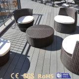 Qualität kundenspezifischer wasserdichter PlastikholzWPC Decking-Fußboden