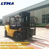 Ltma側面シフトおよび3段階のマストが付いている8トンのディーゼルフォークリフト