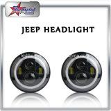 Der 7 Zoll-Jeep Daymaker LED Scheinwerfer mit weißem DRL Winkel mustert Halo-Ring für JeepWrangler 97-2017 Jk Lj Tj