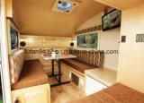 2018 nuovo tipo mini caravan del rimorchio di corsa del caravan della vetroresina (TC-016) del campeggiatore del Teardrop