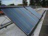 Collecteur tubulaire évacué solaire à haute résistance à la chaleur et à la chaleur