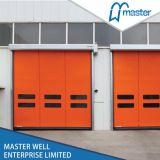 Roller Vertical poliuretano Shutter Puertas Industriales de 55mm Listones, Rodillo de acero hasta la puerta, de acero Rodillo / balanceo / enrollar la puerta