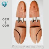 Civière en bois de chaussure de marque de constructeur d'usine