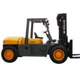 Dieselgabelstapler 10ton mit Eingabe-Leitwerk Fd100t