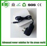 Sécurité à chaud imperméable à l'eau du chargeur de batterie 4.2V1a à l'alimentation électrique pour batterie Li-ion avec prise personnalisée