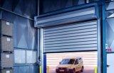 Porte en aluminium à grande vitesse d'obturateur de rouleau de profil d'acier inoxydable de Goff Asj (Hz-RSD036)