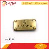 Personnaliser la plaque d'étiquette de logo en métal avec la qualité