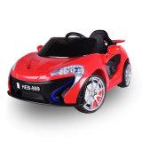 Passeio de brinquedos para crianças no carro