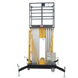Platform van het Werk van de Masten van het aluminium het Dubbele Lucht (Maximum Hoogte 12m)
