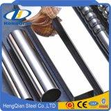 Pipe ronde inoxidable d'acier sans joint (201 304 316 430)