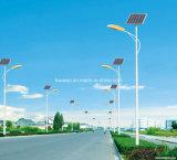 Réverbère solaire du prix usine de RoHS de la CE DEL 6m