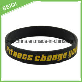 Wristband del silicone reso personale commercio all'ingrosso della fabbrica della Cina per il regalo promozionale