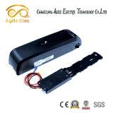 bateria de Ebike do Li-Polímero da câmara de ar de 48V 11.6ah Hailong para baixo com carregador