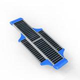 Réverbère solaire de la qualité 60W avec l'usine à télécommande de Pôle PIR IP65 Chine