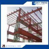 Construção econômica Edifício de estrutura de aço pré-fabricado