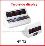 Tcs-Serien-elektronische Schuppen mit wiegender Plattform LCD Blacklight