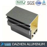 Profil en aluminium de vente chaude pour la porte de guichet de fabrication