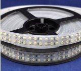 Luz de tira dobro do diodo emissor de luz do CE 2835 SMD de RoHS do brilho elevado da fileira