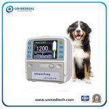 Pompa veterinaria di infusione con lo schermo attivabile al tatto