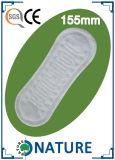 工場女性の超薄い綿の衛生パッド