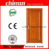 Einzelner hölzerner Tür-Entwurf mit bestem MDF