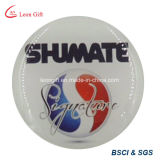 La fábrica el logotipo impreso personalizado insignia de solapa para promoción