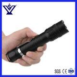 Linterna brillante del metal de la policía recargable de la autodefensa la pequeña atonta el arma (SYSG-1871)
