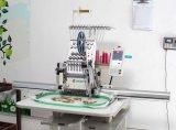 Одиночная головная машина вышивки с Sequin и связывая приспособлением