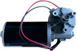 10-100W 높은 토크 저속 브레이크 벌레 기어 DC 모터