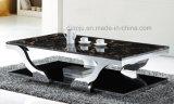 Table basse moderne d'acier inoxydable de meubles d'hôtel (CT8816)