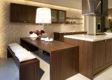 Самым последним технология изощренная типом конструирует малую стеклянную мебель кухни