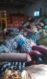 De textiel Materialen van Stoffen in Voorraden