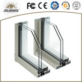 Окно хорошего качества подгонянное изготовлением алюминиевое сползая