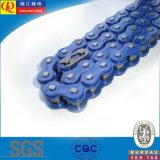 Catena del motociclo del giunto circolare di alta qualità con colore blu