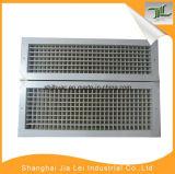 Het dubbele Traliewerk van de Lucht van de Ventilatie van het Aluminium van de Levering van de Afbuiging Regelbare