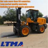 Ltmaの販売のための新しい10トンのディーゼル荒い地勢のフォークリフト