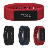 Il braccialetto astuto I5plus I5 di I5plus più il visitatore del video di sonno di Passometer dell'inseguitore di attività di Bluetooth 4.0 del Wristband ricorda a