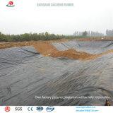 Zwarte die HDPE Geomembrane wijd in China wordt gebruikt