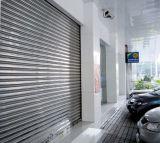 Roulant électrique de porte en acier inoxydable, rideau électrique