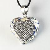 مجوهرات قلب مدلّاة خانق عقد نمو محدّد [ستينلسّ ستيل]