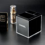 Отличное качество черный макияж органайзера, косметический акриловый коробка для хранения