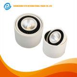天井を停止する鋳造アルミ3.5のインチ7Wの穂軸LED Downlightを埋め込みなさい
