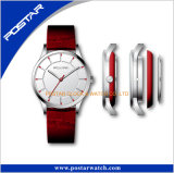Reloj de cristal de la manera de la vendimia del zafiro del reloj del caso especial