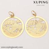 60218 manera Xuping simple sin conjunto indio de la joyería del diseño de piedra de los pescados
