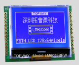 128x64 com visor LCD gráfico tipo Cog Módulo LCD (LM6059B)