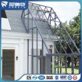 Perfiles de aluminio coloridos del estándar europeo de E. - para la casa de cristal de Sun